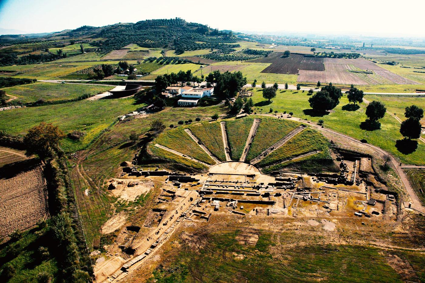 Giovanni Mare - Αρχαία Ήλιδα