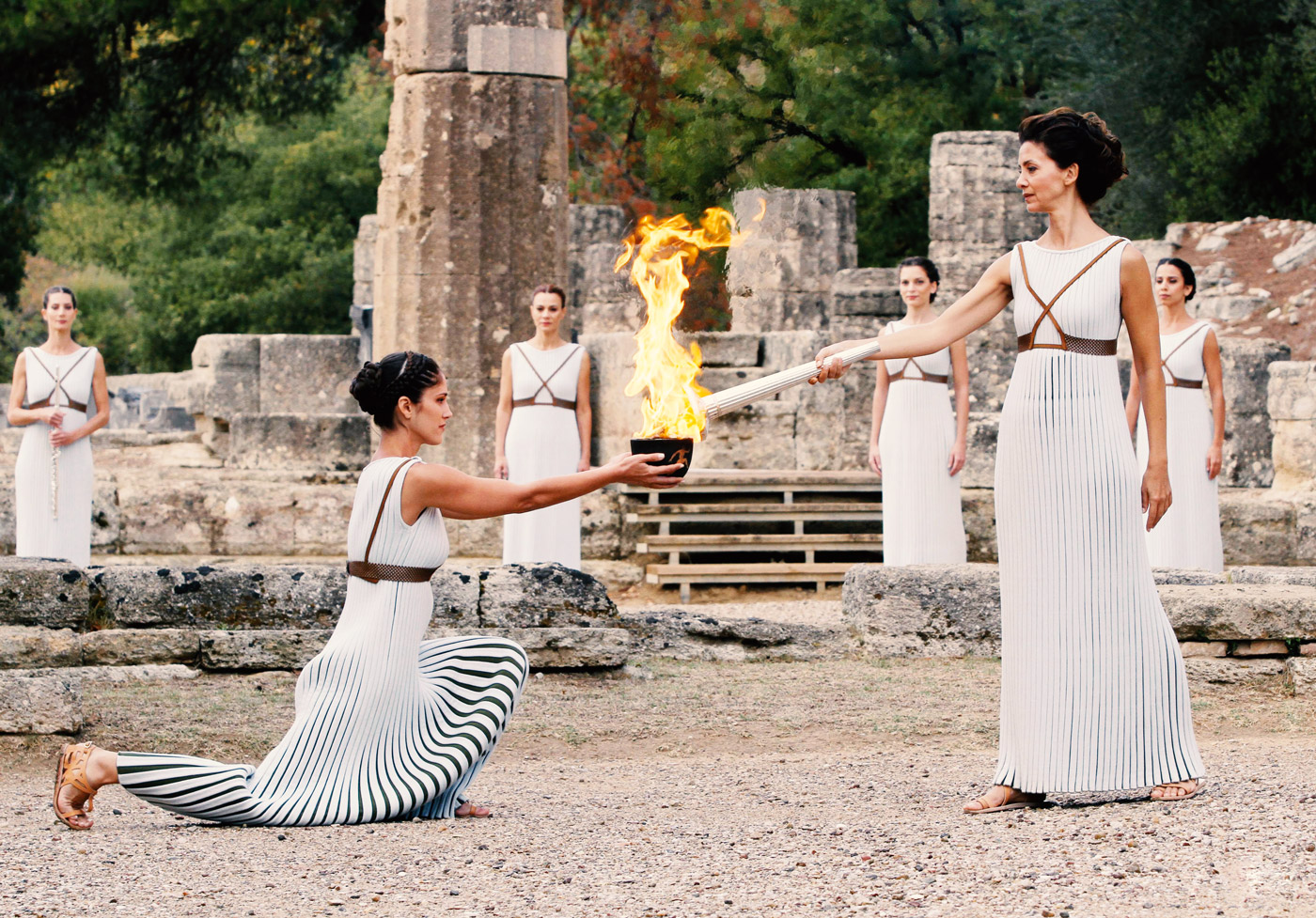 Giovanni Mare - Αρχαία Ολυμπία